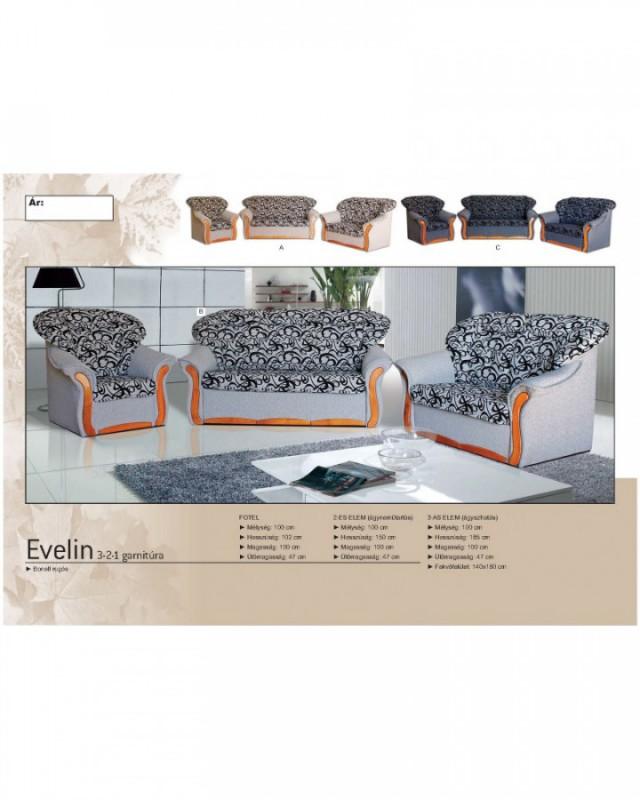 Evelin 3-2-1 ülőgarnitúra